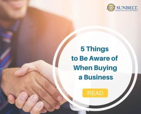 things to be aware of when buying a business